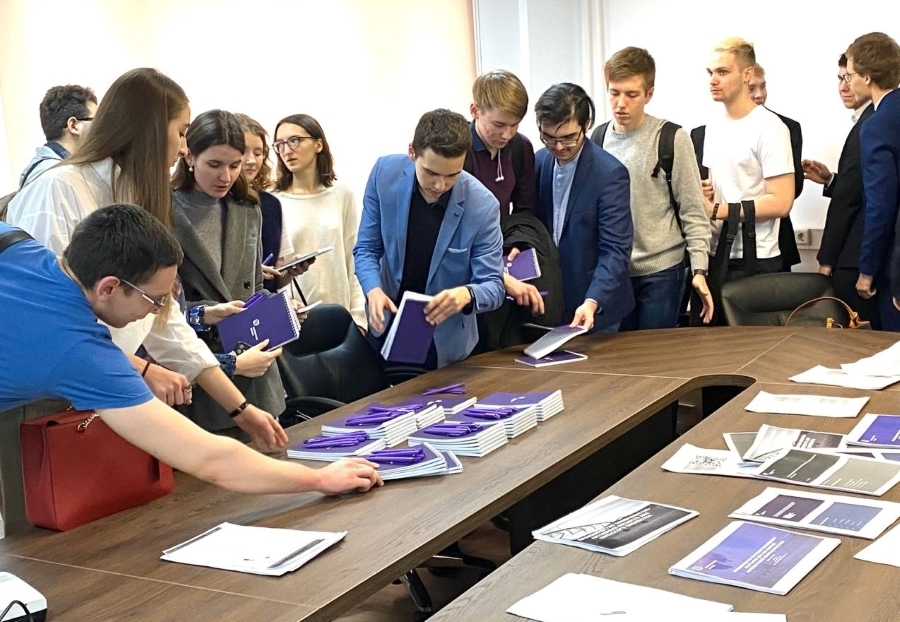 Students from High School of Economics presented their business plans to experts of Metafrax Group